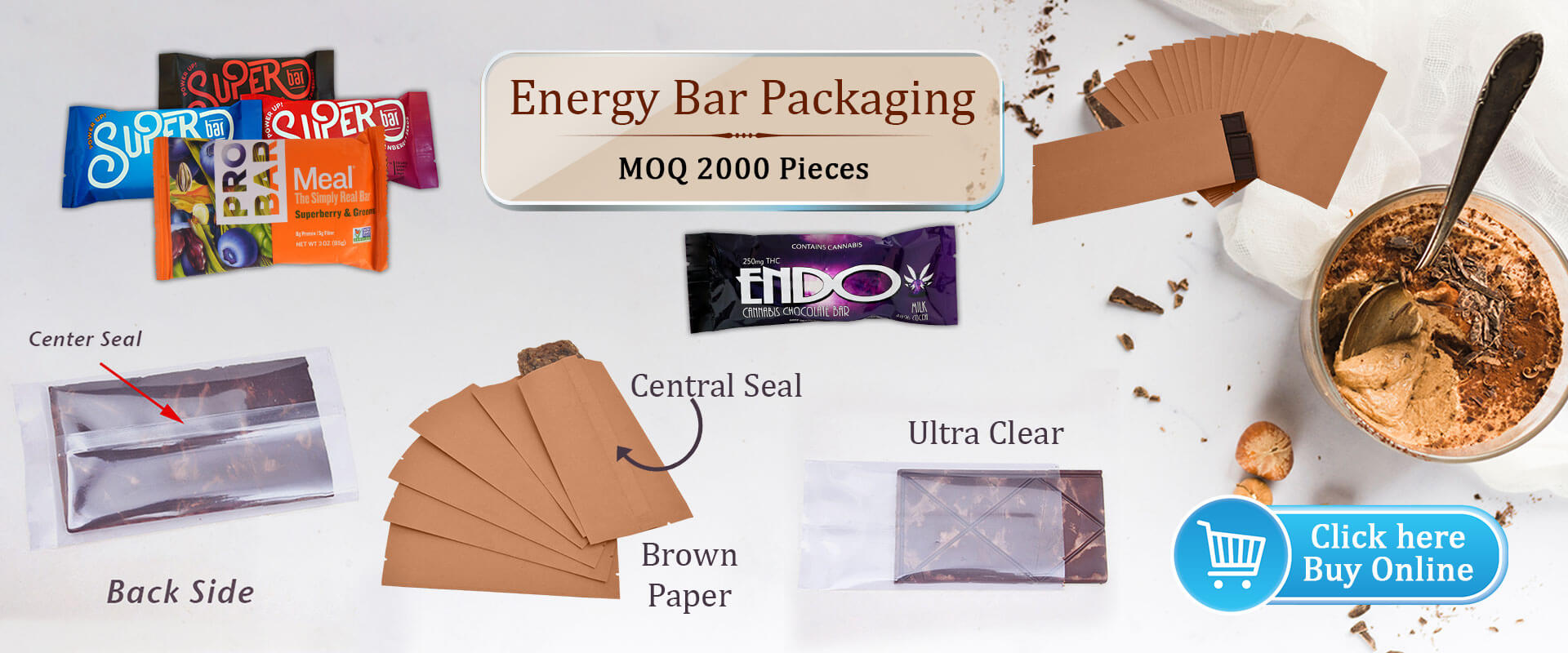 Energy Bar Packaging PouchMakers