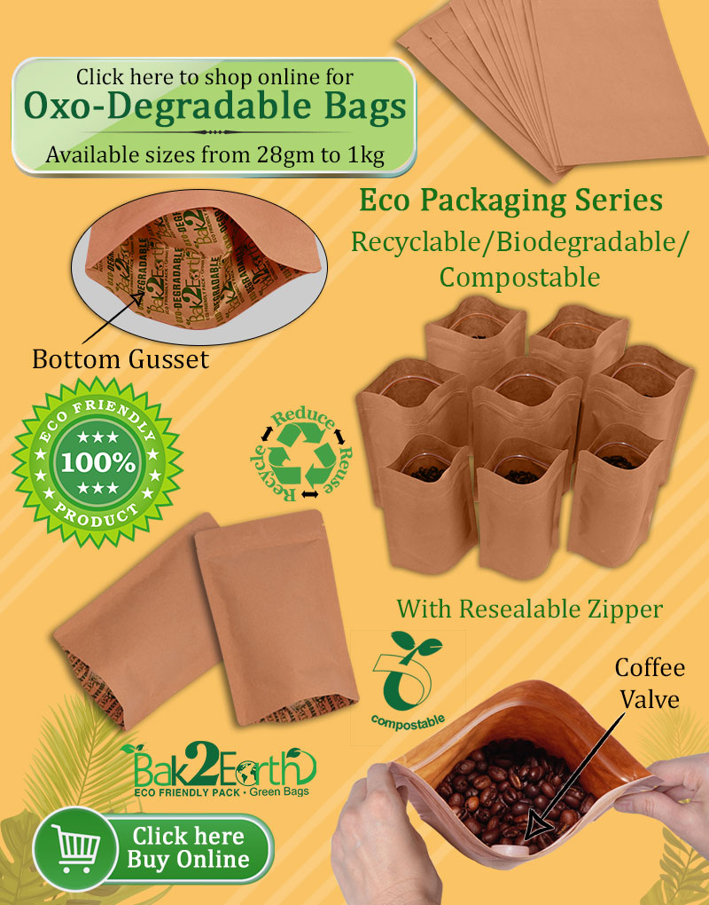 Oxo Degradable Bags PouchMakers